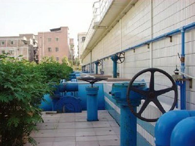 上海长桥水厂使用现场