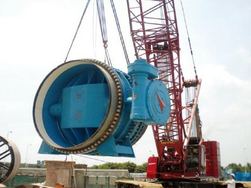 广州西江引水(亚运)工程使用现场