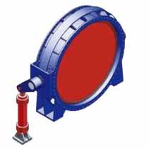 水轮机进水液动蝶阀
