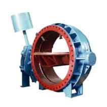 水电站型自动保压液控蝶阀